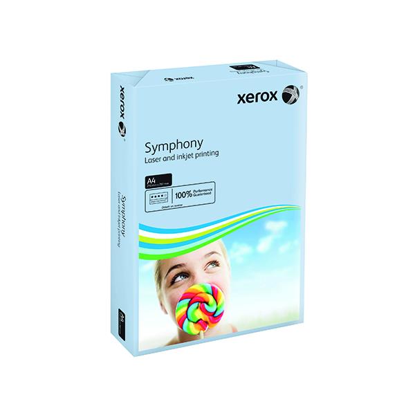 Xerox Symphony Pastel Blue A4 160gsm Card (250 Pack) XX93222
