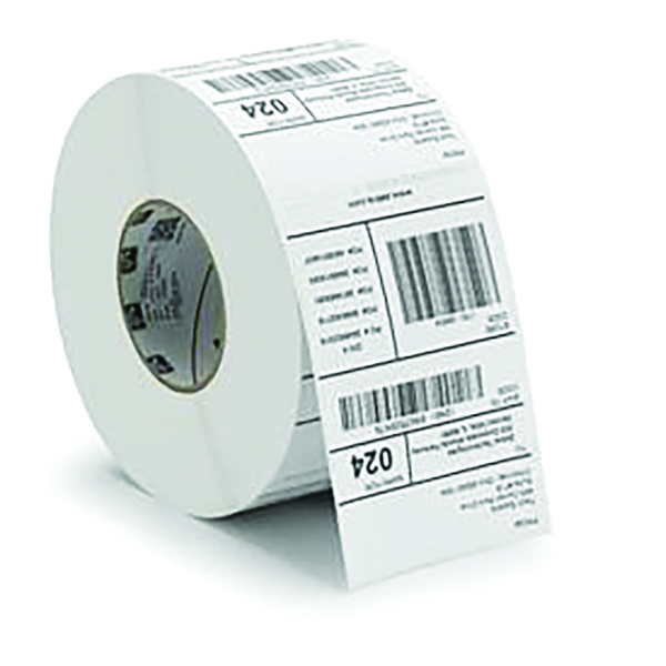 Zebra Label Paper Industrial Prf 1000D 102x152mm (4 Pack) 3007096-T